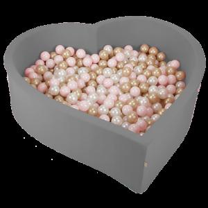 hartvormig ballenbad